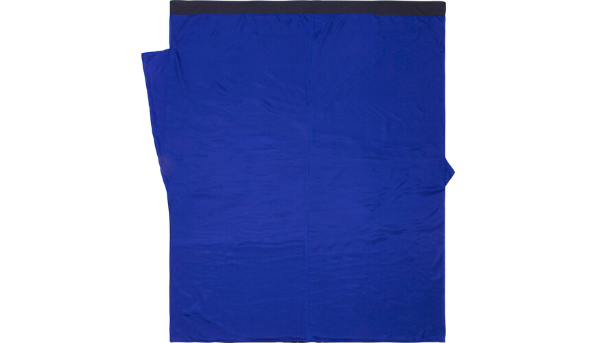 Cocoon TravelSheet - Sac de couchage - Doublesize Silk bleu
